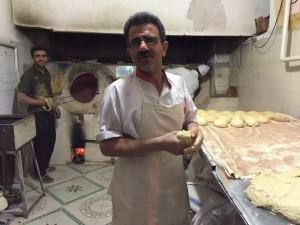 伊朗大饼全手工作坊