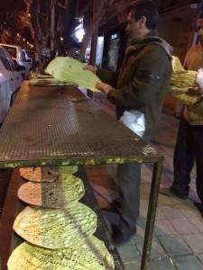 伊朗大饼半自动化生产线_1