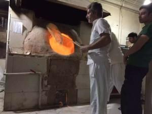 伊朗大饼半自动化生产线_6