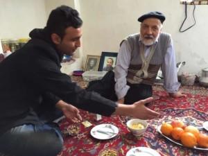 伊朗,奥比扬奈村做客_4