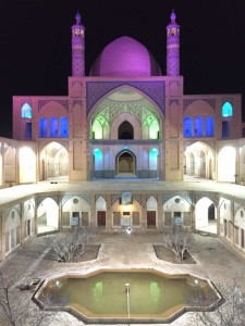 伊朗,清真寺里喝喝茶_2