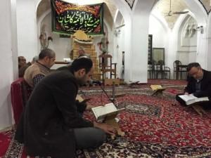 伊朗,清真寺里喝喝茶_3