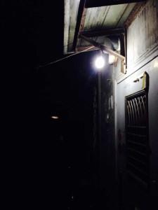 家门口的灯