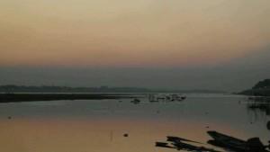 湄公河黄昏